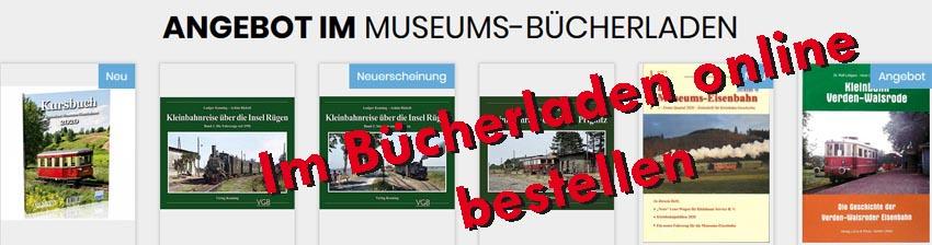 zum Shop des Bücherladen im Kleinbahn-Museum Bruchhausen-Vilsen